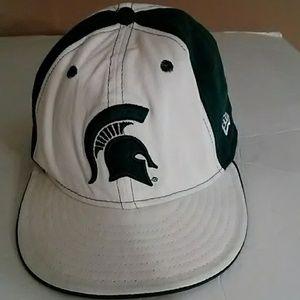 Men's Michigan State Fitted Cap